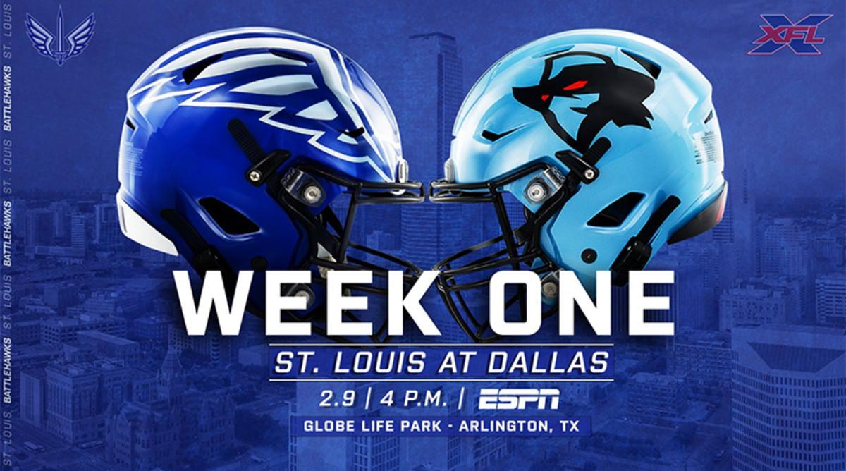 St. Louis BattleHawks vs. Dallas Renegades Prediction and Preview (XFL Football)