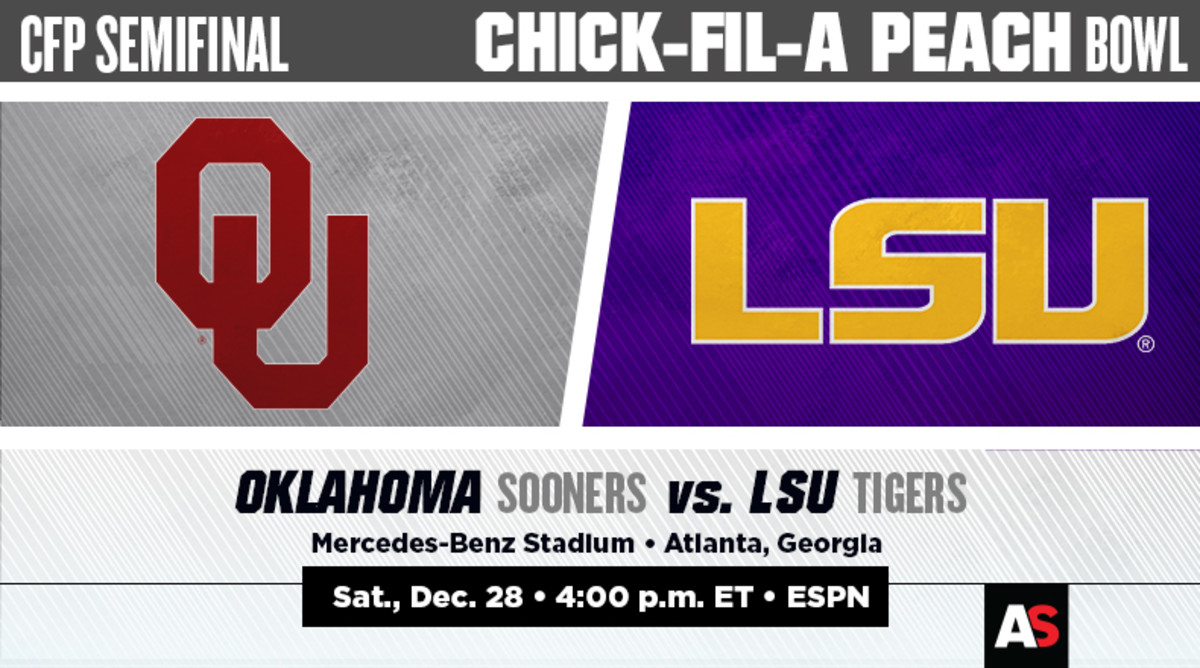 Peach Bowl Prediction and Preview: Oklahoma Sooners vs. LSU Tigers