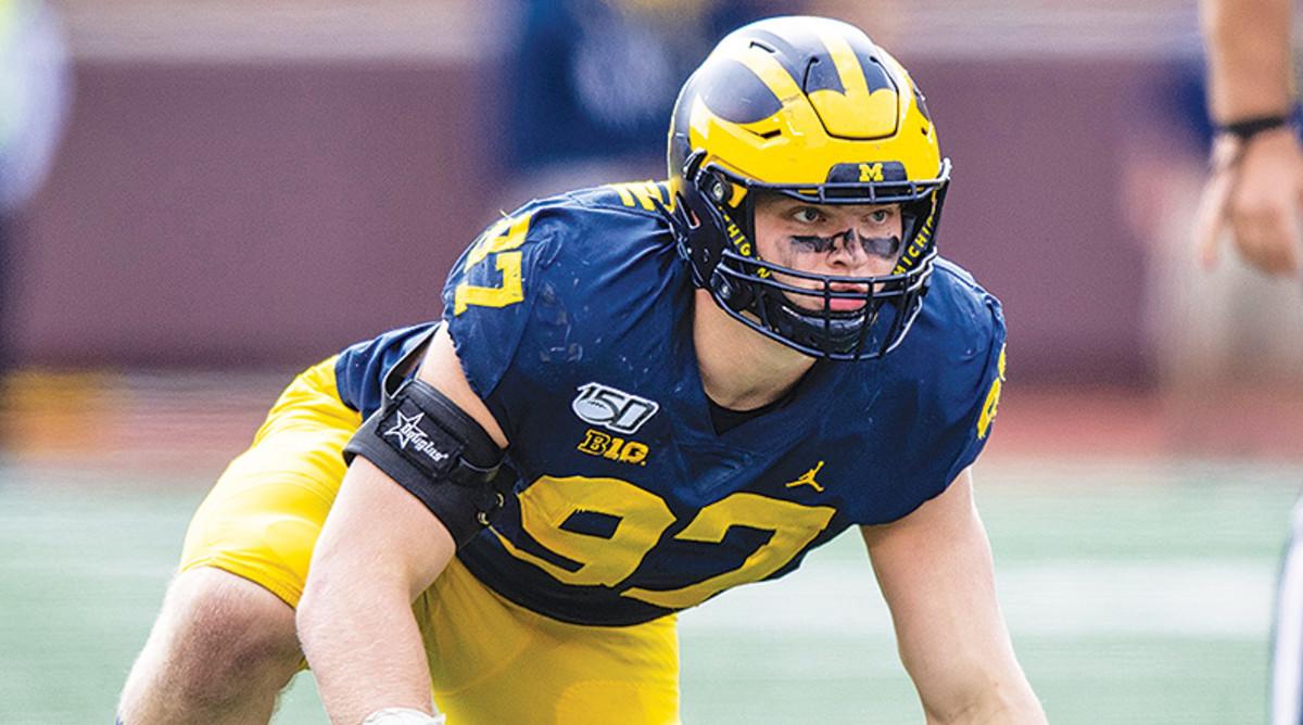 Aidan Hutchinson, Michigan Wolverines Football