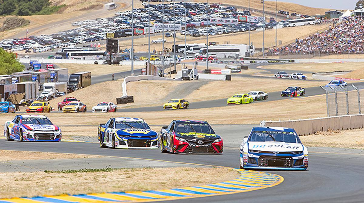 NASCAR Fantasy Picks: Best Sonoma Raceway Drivers for DFS