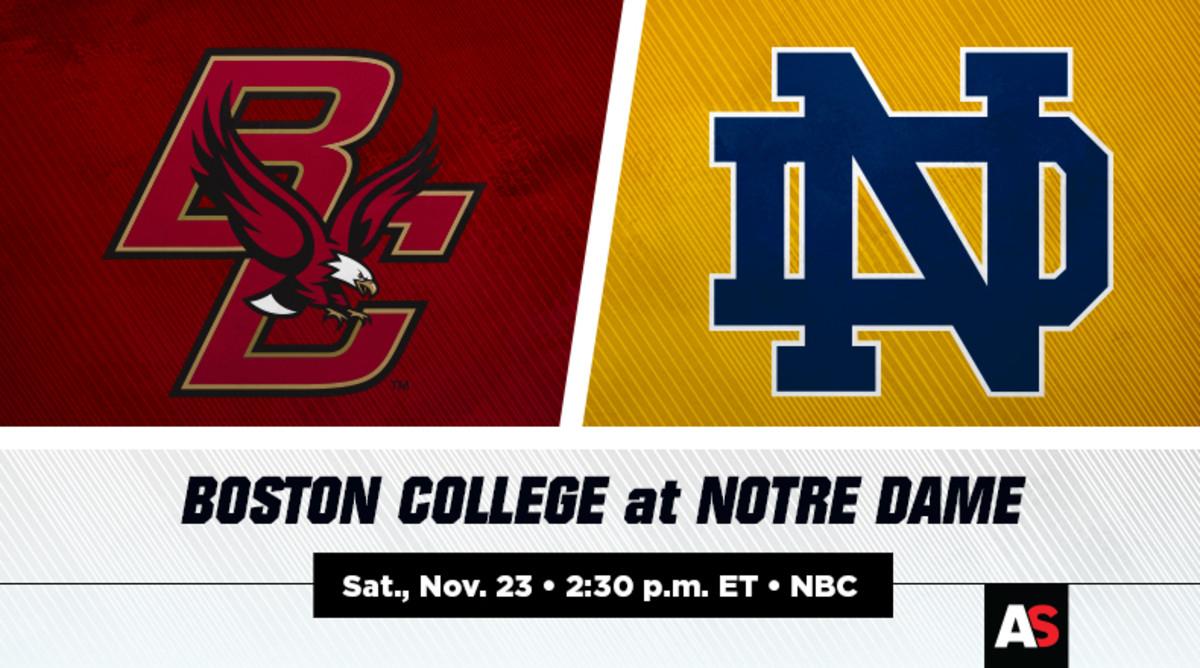 Boston College vs. Notre Dame Football Prediction and Preview