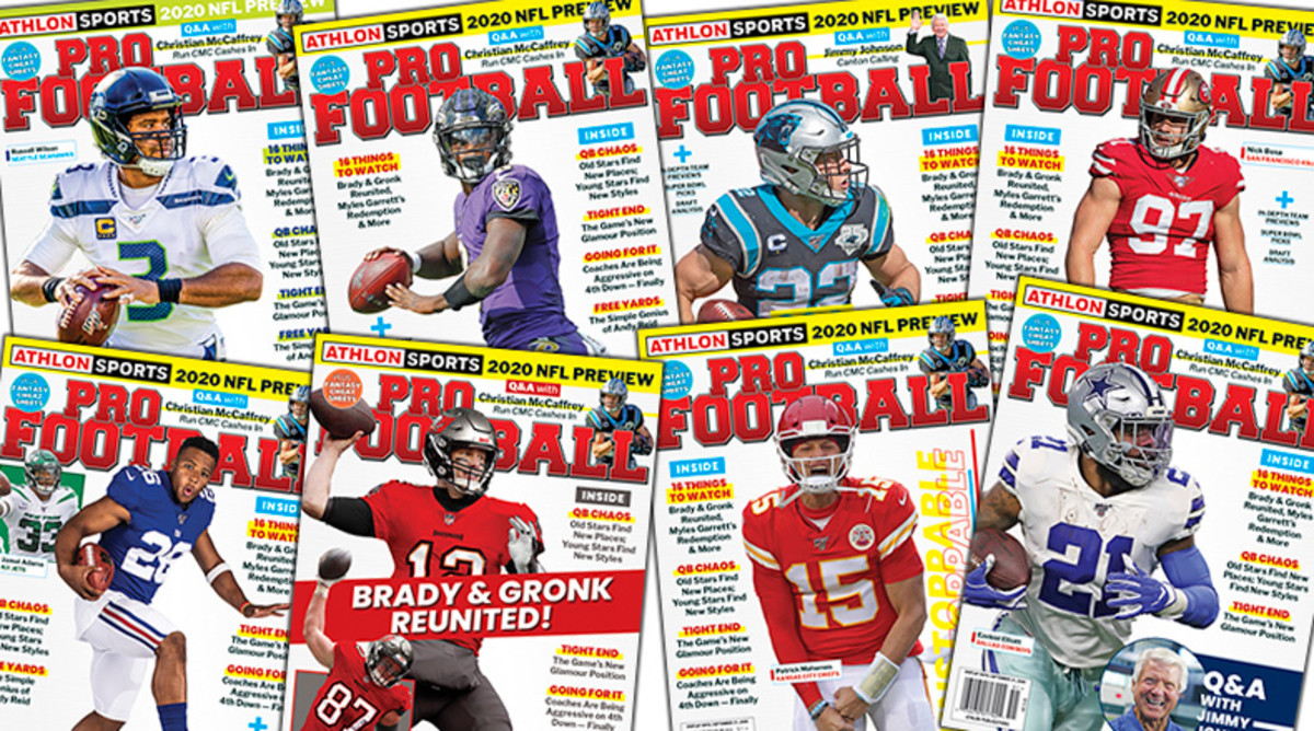 Athlon Sports' 2020 NFL Preview Magazine is Available Now