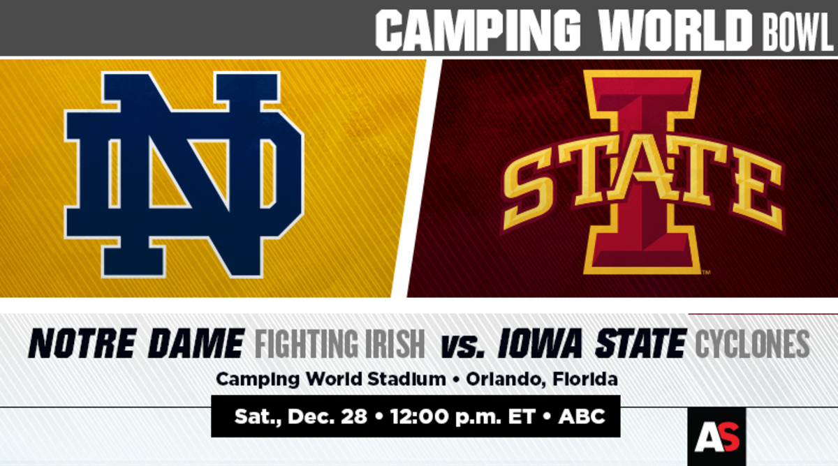 Camping World Bowl Prediction and Preview: Notre Dame vs. Iowa State