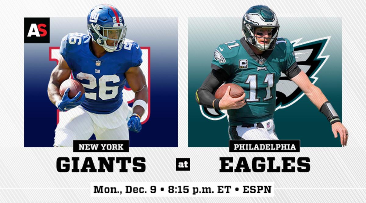 Monday Night Football: New York Giants vs. Philadelphia Eagles Prediction and Preview
