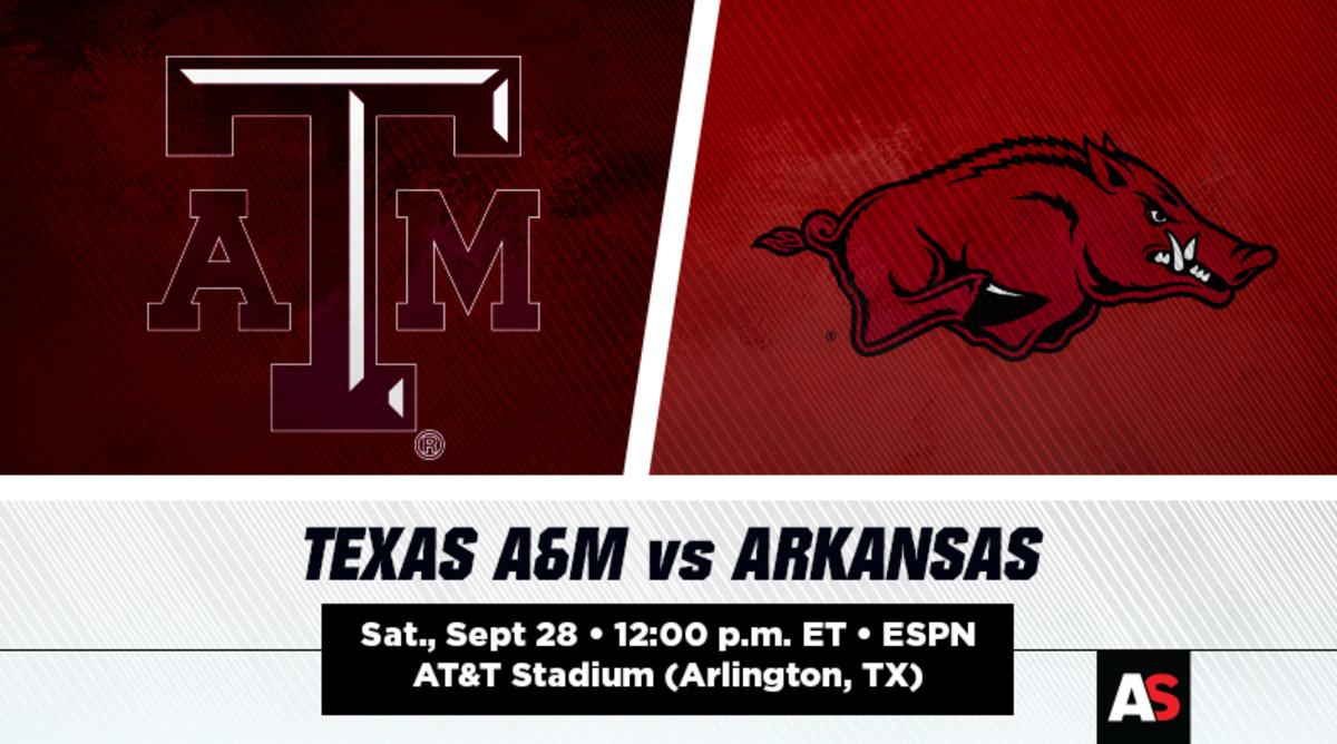 Texas A&M vs. Arkansas Football Prediction and Preview