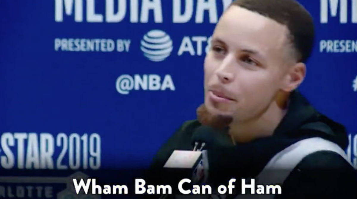 Jimmy Fallon Challenged Steph Curry to Say Weird Phrases During All-Star Interviews