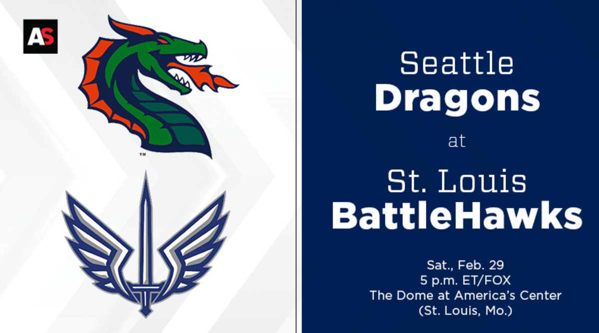 Seattle Dragons vs. St. Louis BattleHawks Prediction and Preview (XFL Football)