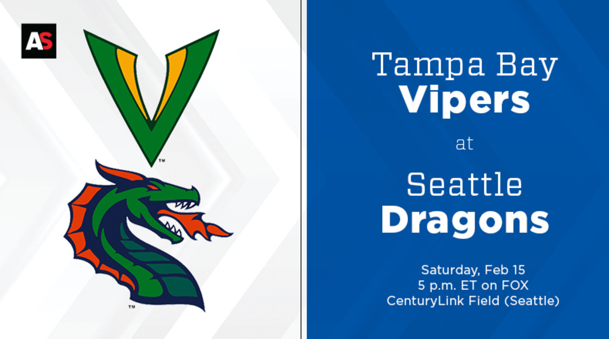 Tampa Bay Vipers vs. Seattle Dragons Prediction and Preview (XFL Football)