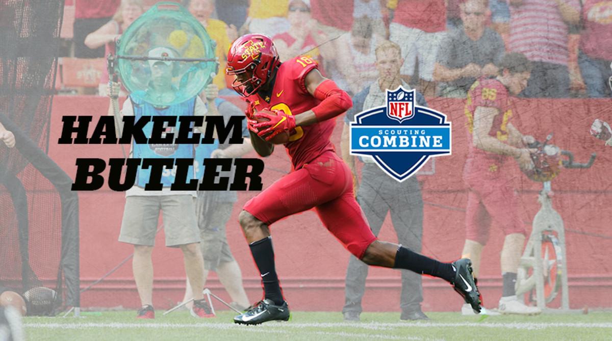 NFL Scouting Combine Watch: Hakeem Butler