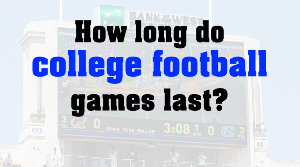 How Long Do College Football Games Last?