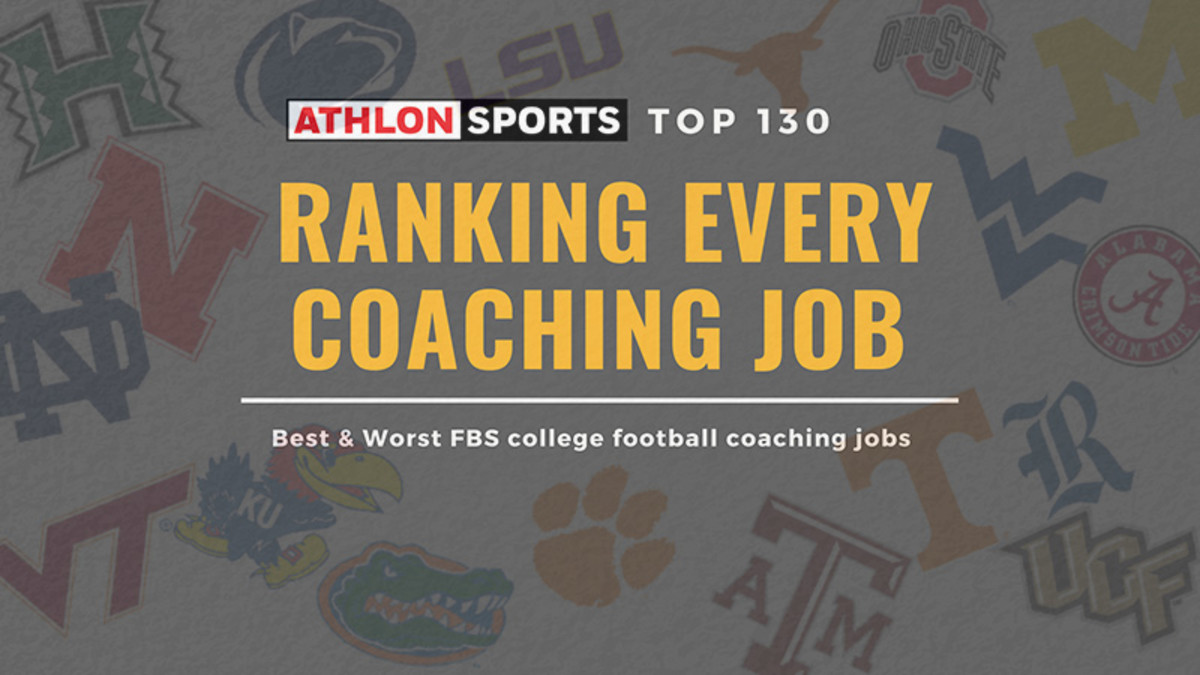 Ranking All 130 College Football Coaching Jobs for 2019
