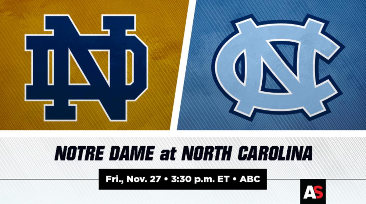 Notre Dame (ND) vs. North Carolina (UNC) Football Prediction and Preview