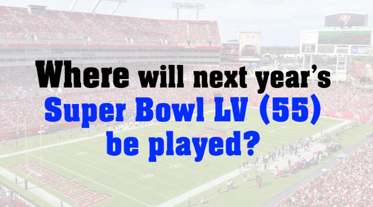 Super Bowl LV (55) location 2021