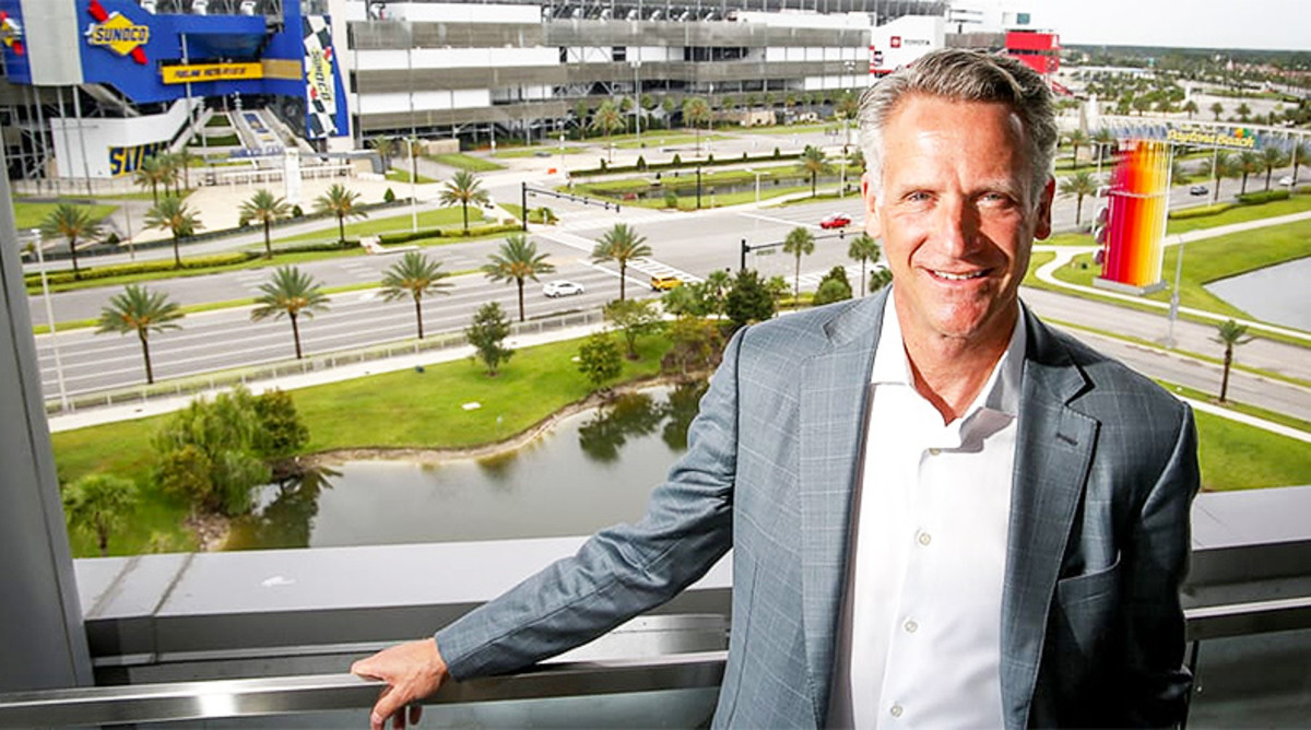 Steve Phelps Q&A: NASCAR President Relives the 2020 Season and Assesses the Sport's Future