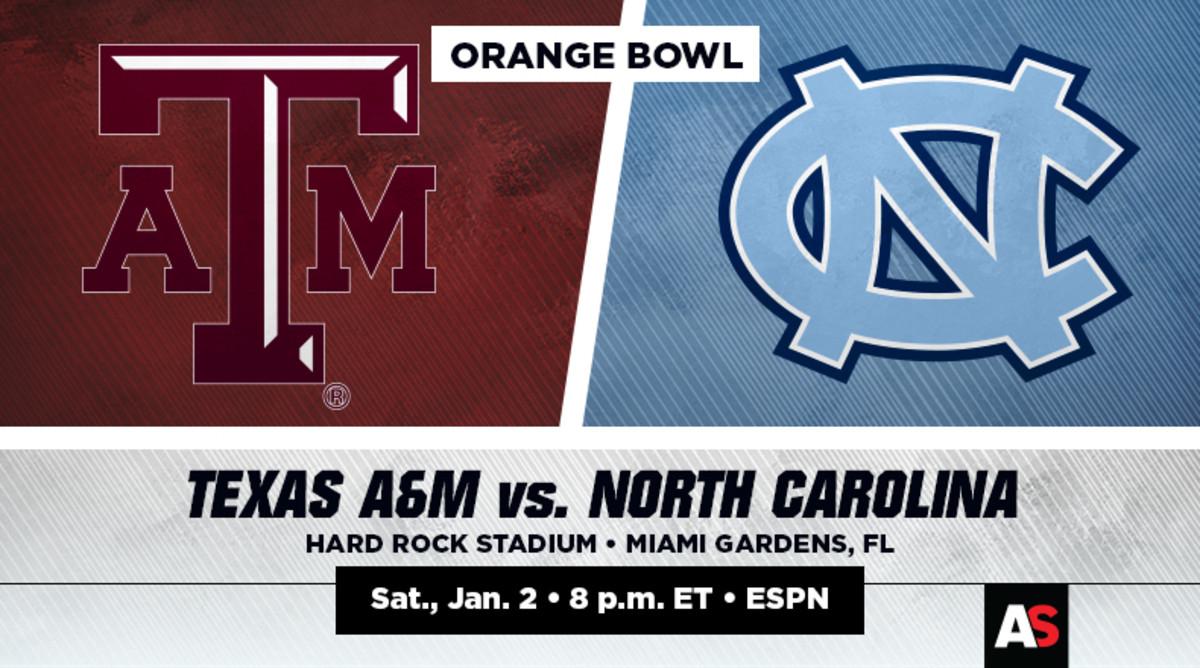 Orange Bowl Prediction and Preview: Texas A&M vs. North Carolina