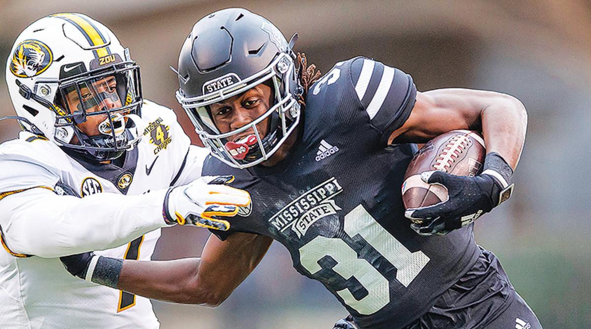 Jaden Walley, Mississippi State Bulldogs Football