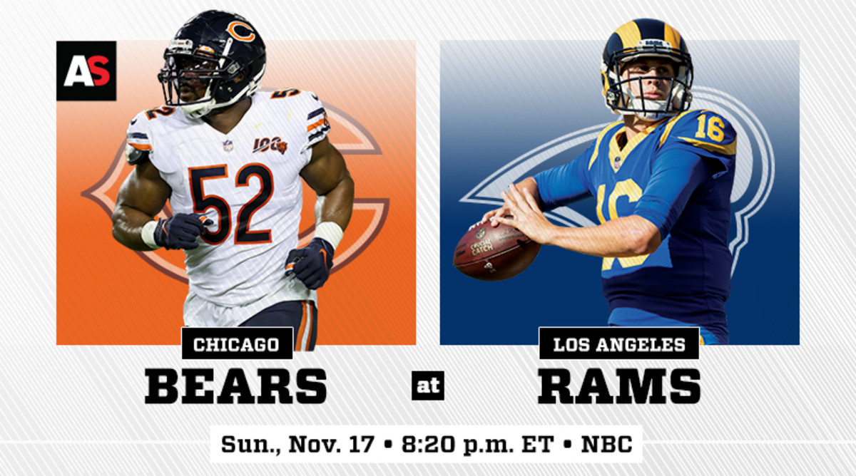 Sunday Night Football: Chicago Bears vs. Los Angeles Rams Prediction and Preview