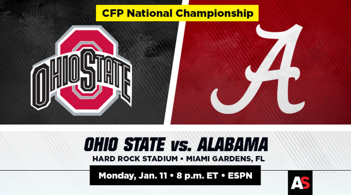 National Championship Prediction and Preview: Ohio State vs. Alabama