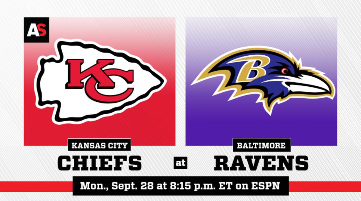Monday Night Football: Kansas City Chiefs vs. Baltimore Ravens Prediction and Preview