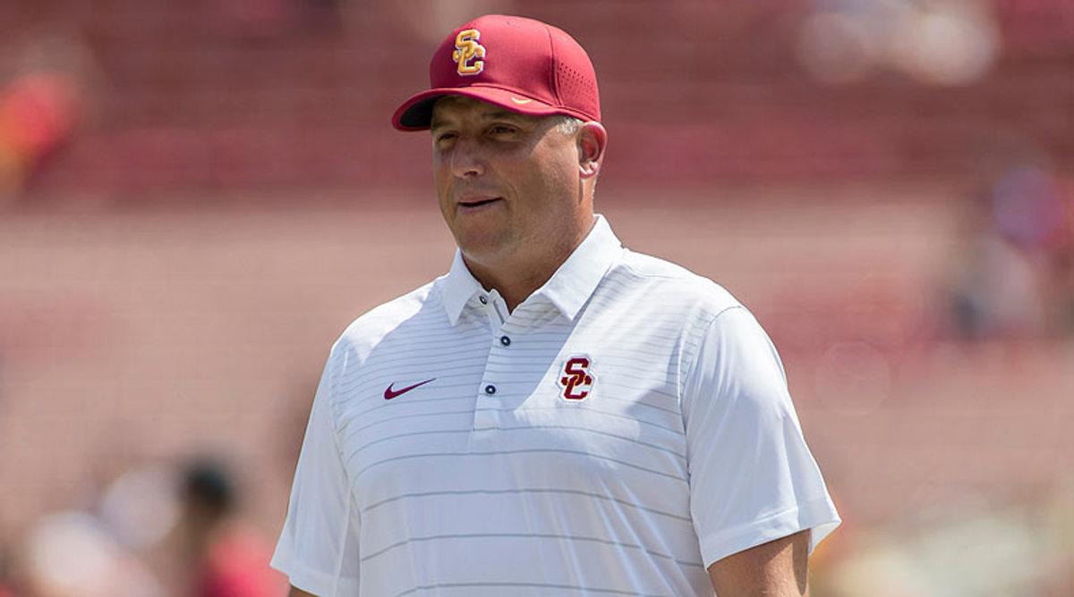 Clay Helton, USC Trojans Football