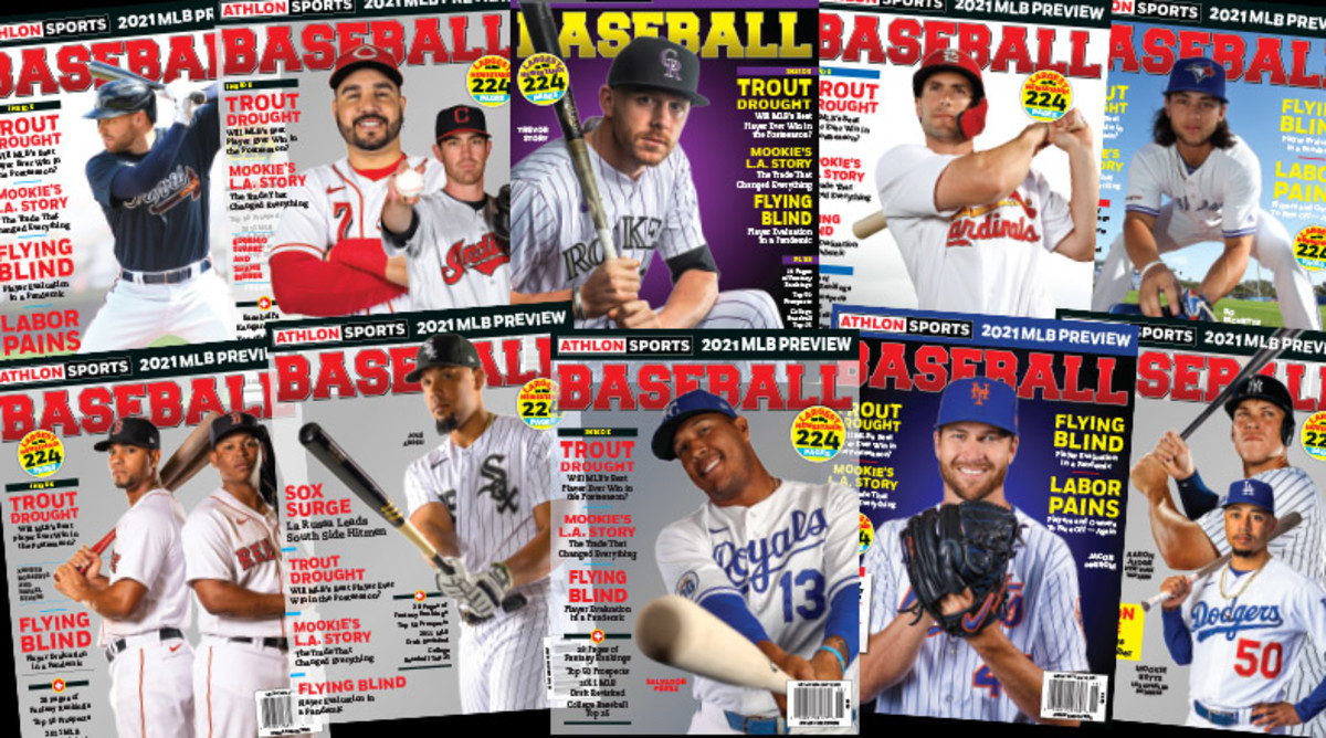 Athlon Sports' 2021 Baseball Preview Magazine is Available Now