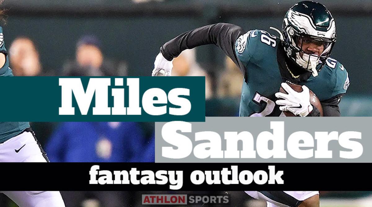 Miles Sanders: Fantasy Outlook 2020