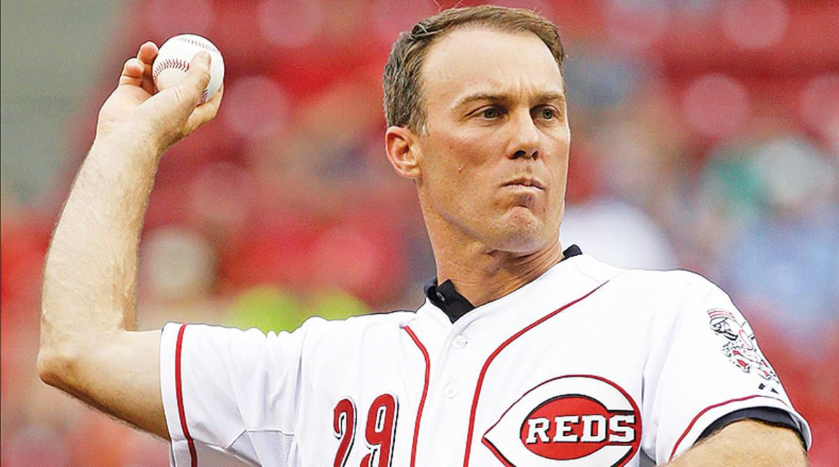 NASCAR Cup Series Driver Kevin Harvick Has a Kid's Love for the Game of Baseball