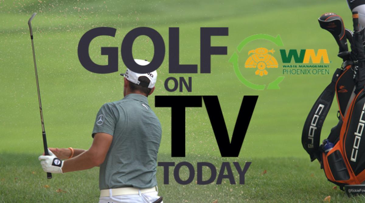PGA Tour Golf on TV Today (Saturday, Feb. 1): Waste Management Phoenix Open