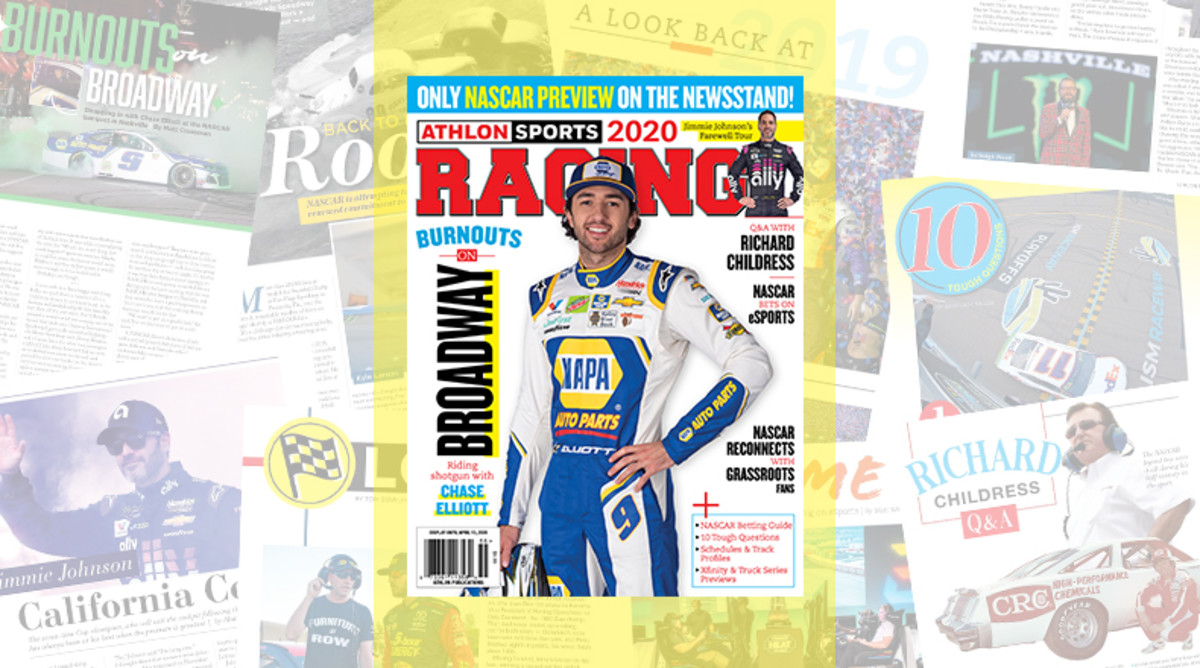 Athlon Sports' 2020 NASCAR Preview Magazine is Available Now