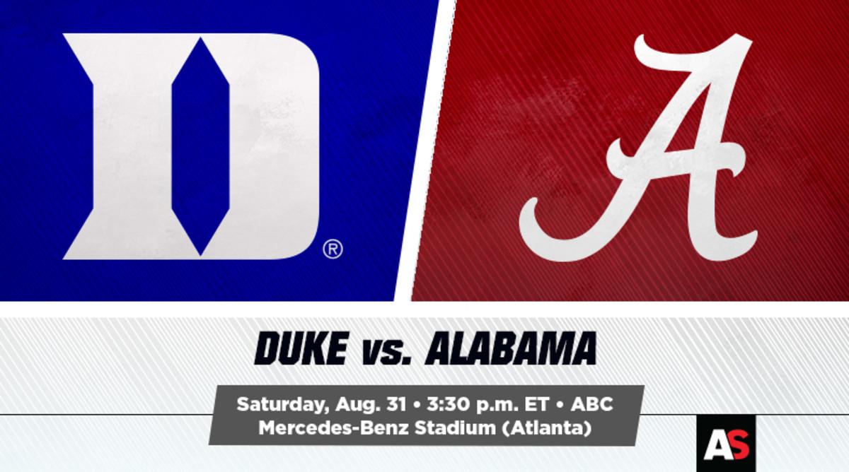 Duke vs. Alabama Prediction and Preview