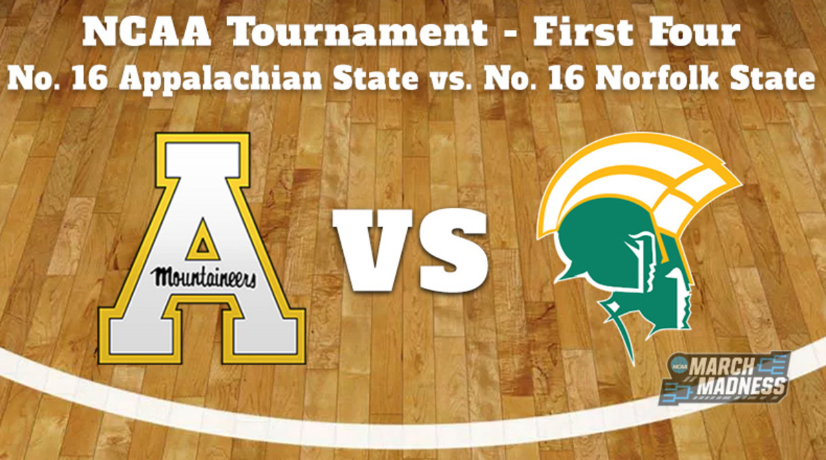 Appalachian State Mountaineers vs. Norfolk State Spartans Prediction: NCAA Tournament First Four Preview