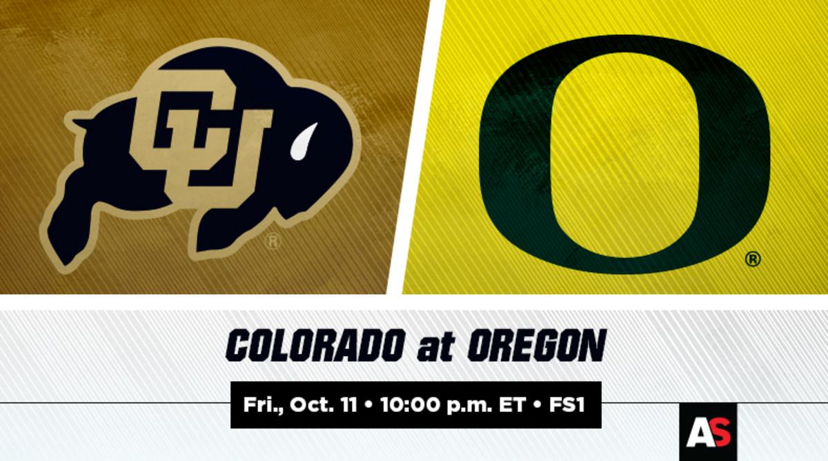 Colorado vs. Oregon Football Prediction and Preview