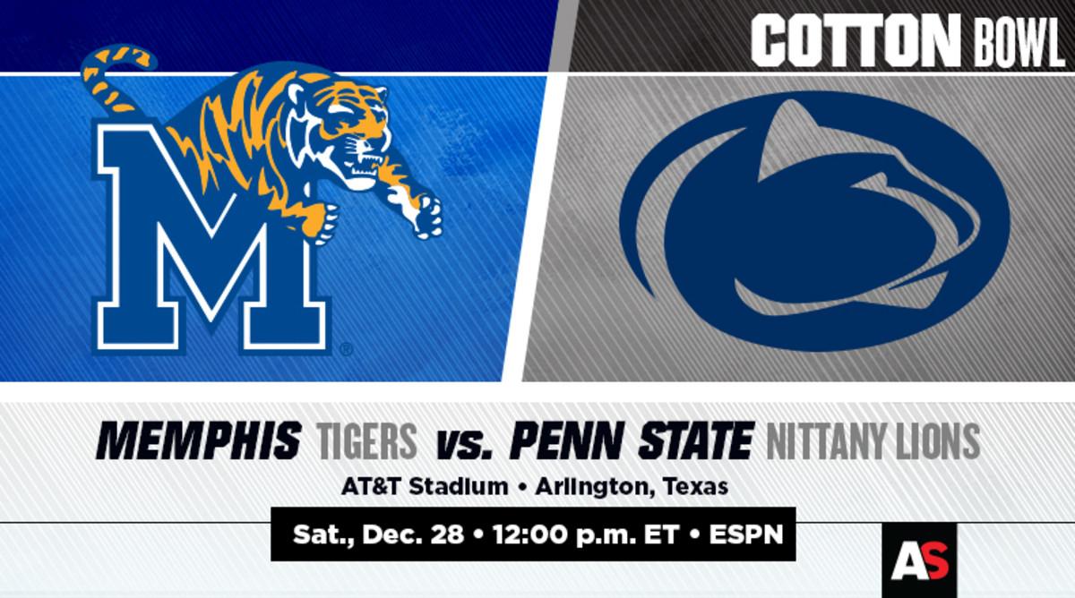 Cotton Bowl Prediction and Preview: Memphis vs. Penn State
