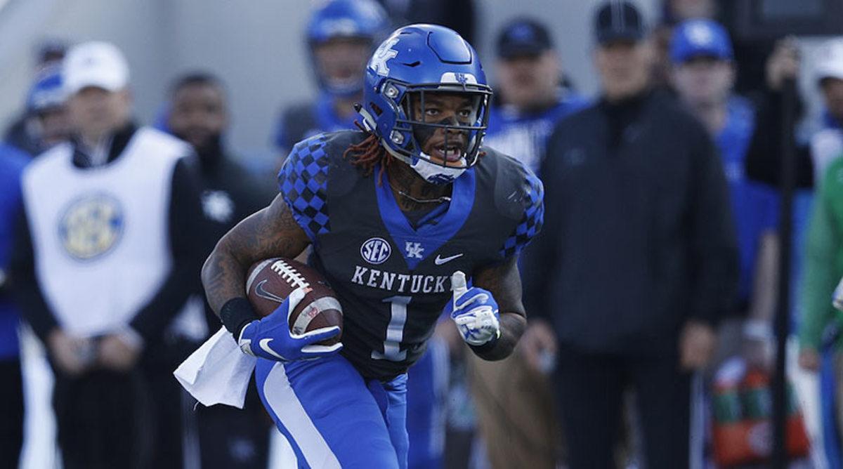 Lynn Bowden, Kentucky Wildcats Football