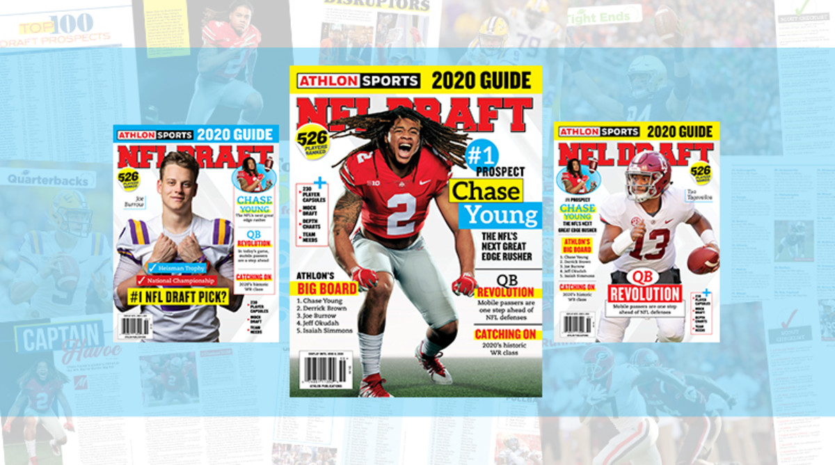 Athlon Sports' 2020 NFL Draft Guide Digital Edition Available Now
