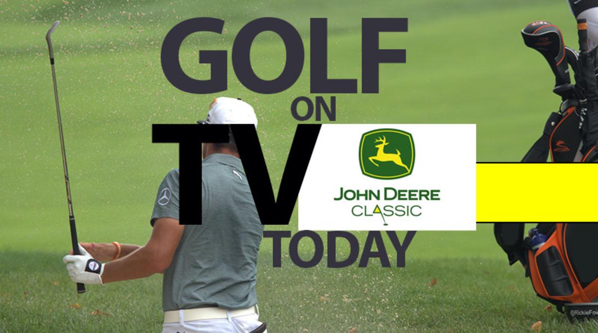 Golf on TV Today (Sunday): 2019 John Deere Classic