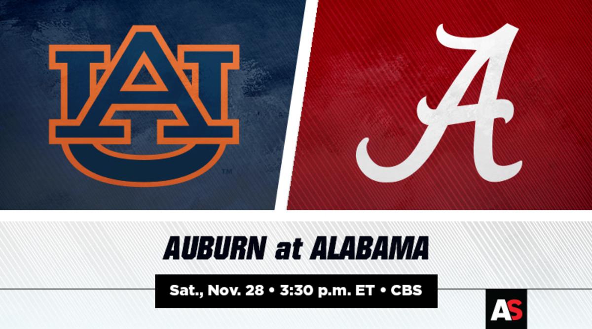 Auburn vs. Alabama Football Prediction and Preview
