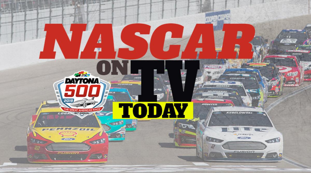 NASCAR on TV Today: Daytona 500 2019