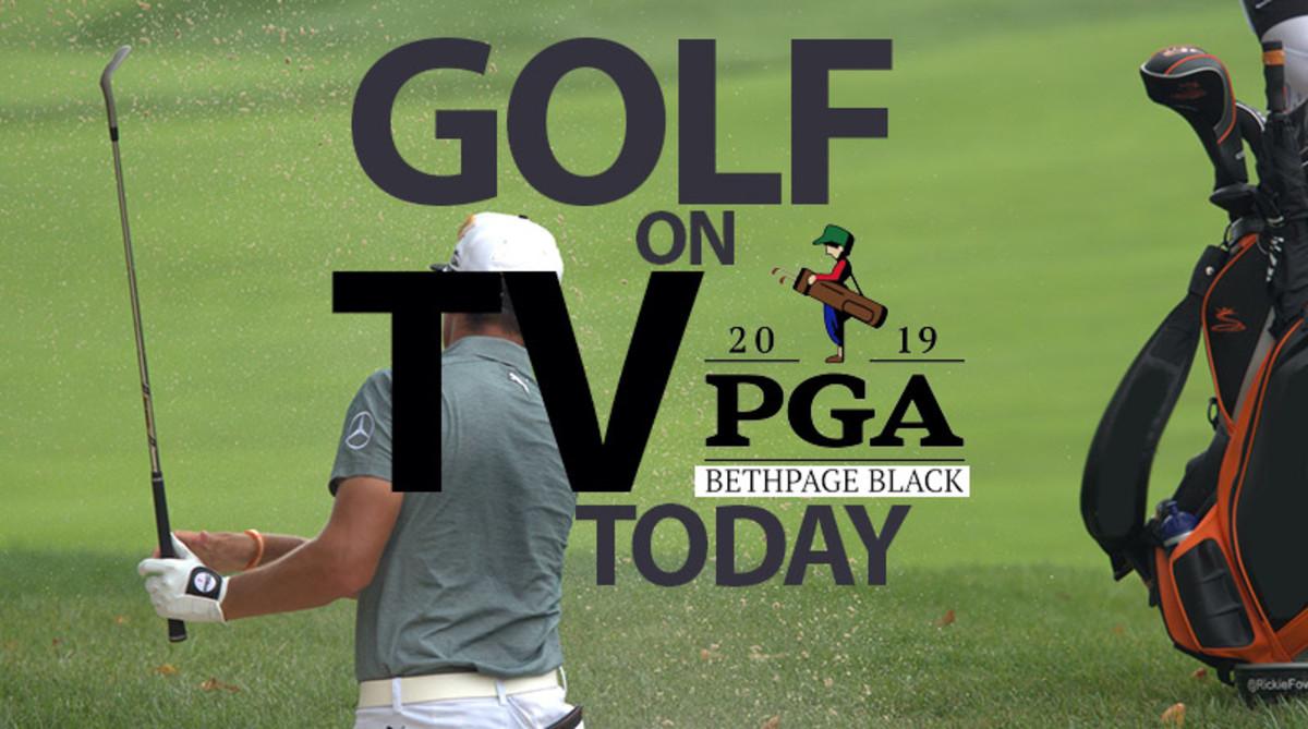PGA Championship TV Broadcast Schedule: Golf on TV Today (Saturday)
