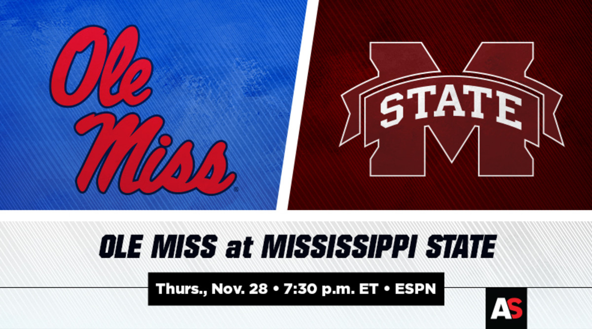 Thanksgiving Day: Ole Miss vs. Mississippi State Football Prediction and Preview