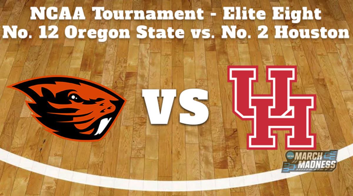 Oregon State Beavers vs. Houston Cougars Prediction: NCAA Tournament Elite Eight Preview