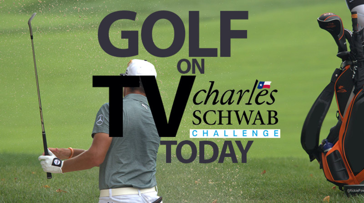 Golf on TV Today (Saturday, May 25): Charles Schwab Challenge