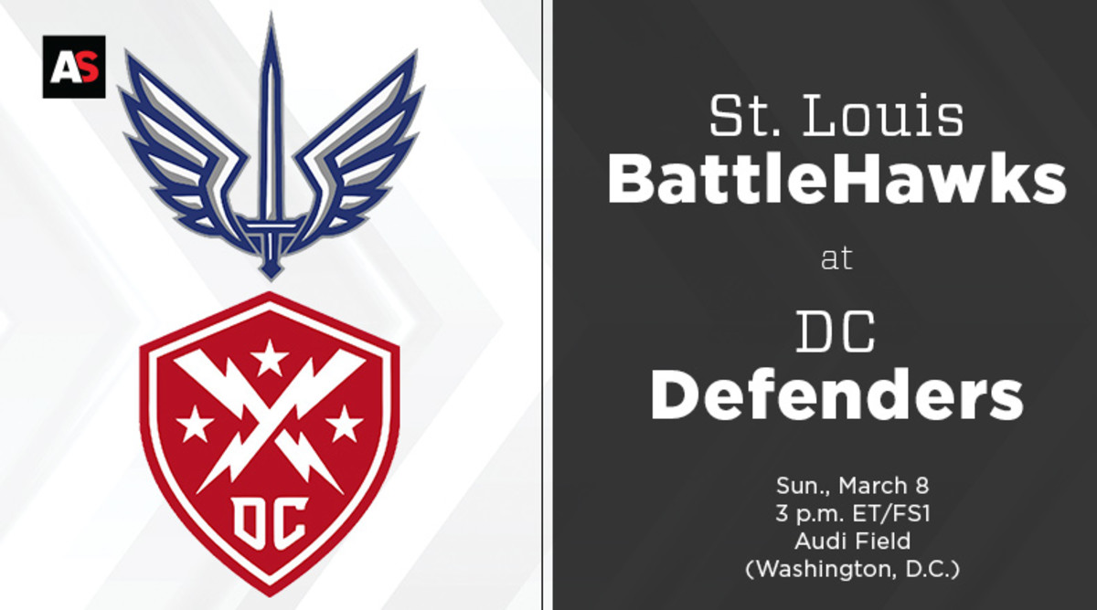 St. Louis BattleHawks vs. DC Defenders Prediction and Preview (XFL Football)