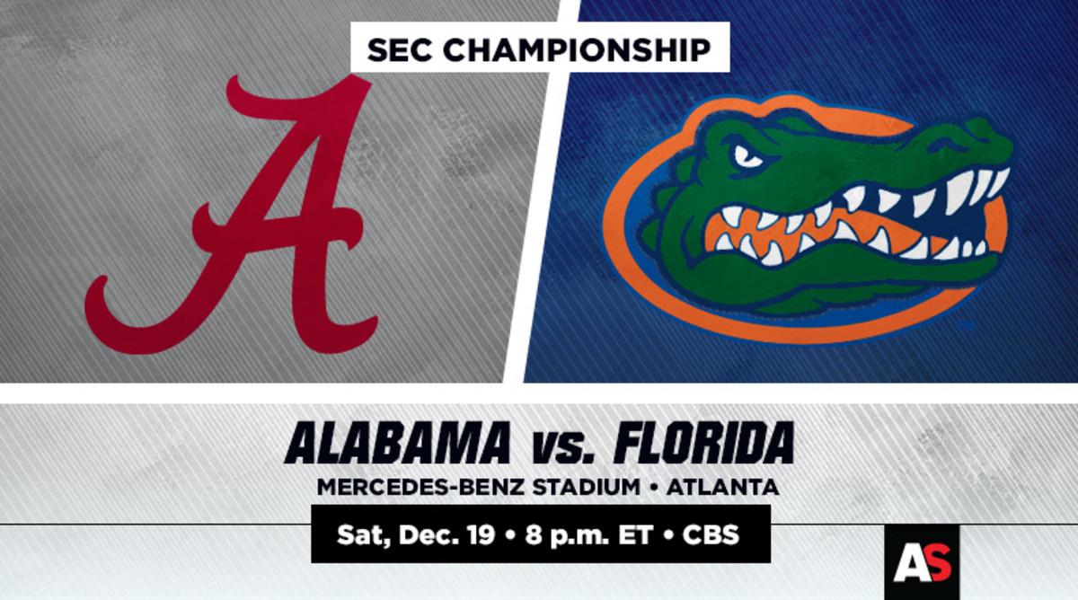 SEC Championship Prediction and Preview: Alabama vs. Florida