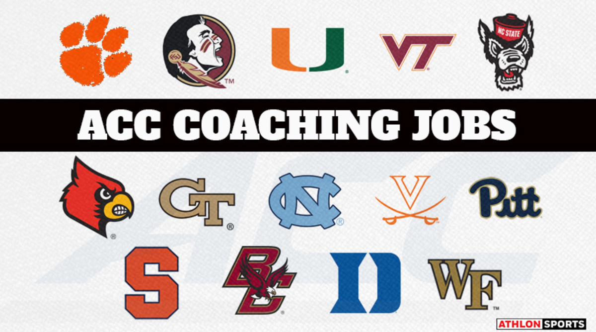 Ranking the ACC College Football Coaching Jobs 2019