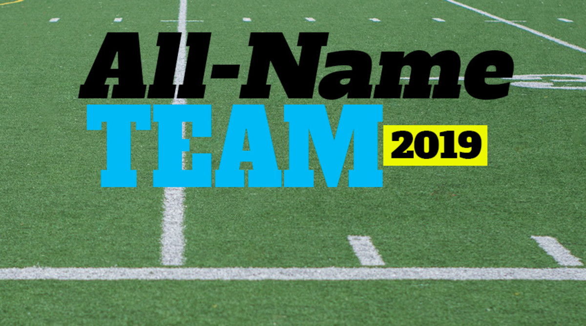College Football's 2019 All-Name Team