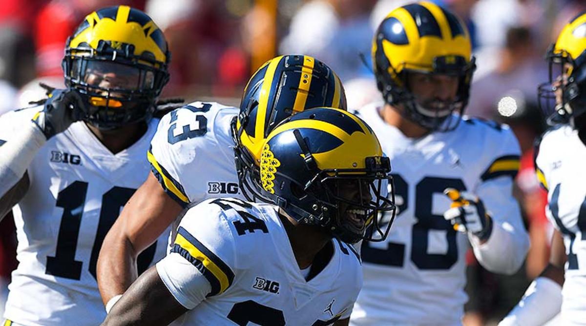 Michigan Ranked No. 4 in Athlon's College Football Top 25