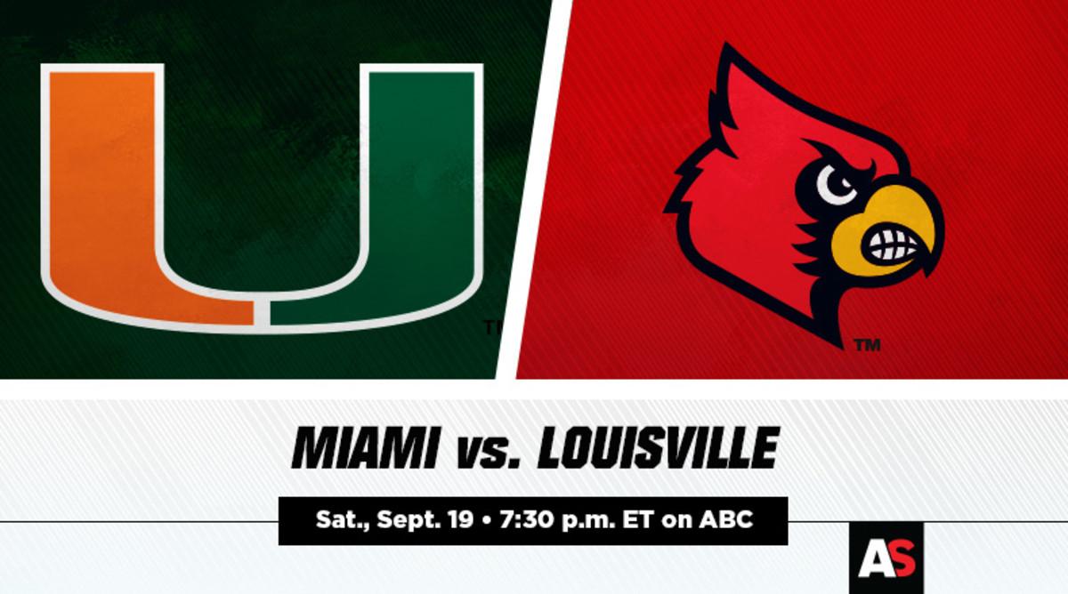 Miami vs. Louisville Football Prediction and Preview