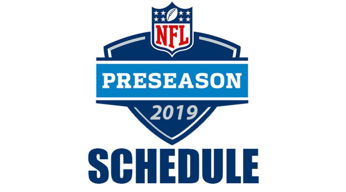 NFL Preseason Schedule 2019