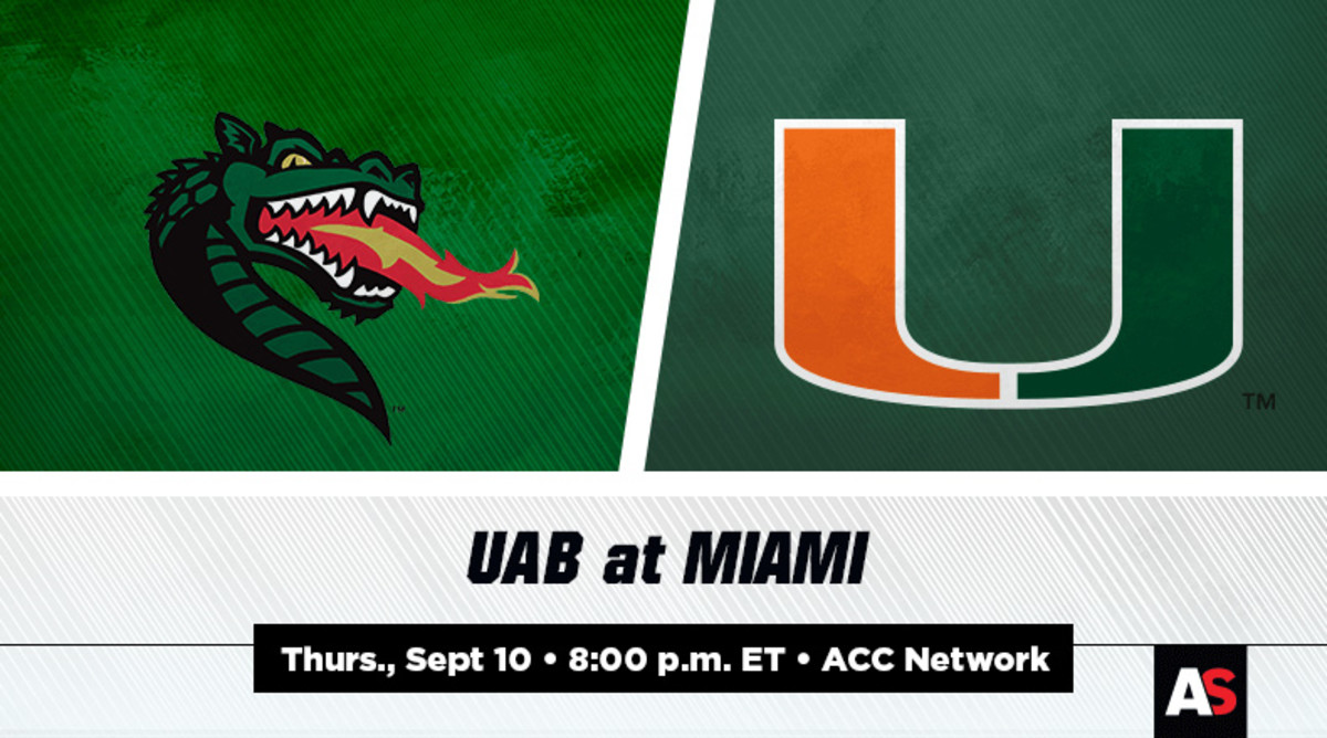 UAB vs. Miami Football Prediction and Preview